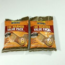 2 Value Packs HotHands Warmers HotHands Hot Hands Toe Warmer 14 pairs 28 $14.99