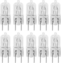 10 Pack-G8 20Watt 120V Halogen Light S T4 Jcd Type 120V Bi-Pin Base Shorter 1-1 $15.99