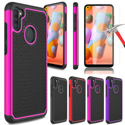 For Samsung Galaxy A11 Phone Case Shockproof Rugged CoverGlass Screen Protector $5.95