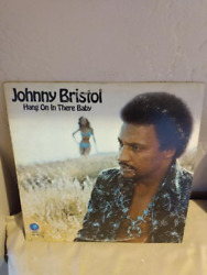 Johnny Bristol quot;Hang On In There Babyquot; MGM Soul Funk LP NM VG VINYL MGM 1974 $4.90