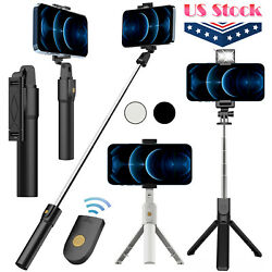 Selfie Stick Tripod Remote Desktop Stand Cell Phone Holder For iPhone Samsung US $13.95