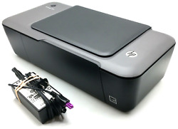 HP Deskjet 1000 Color Printer J110a With Power Supply Cord wAC Adapter $74.99
