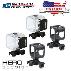 Gopro Hero 4 5 Session 40m Underwater Waterproof Diving Housing Frame Cover Case $12.74