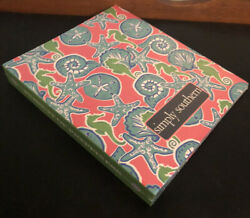 NEW Simply Southern Notebook She a Shell Pink Sand Dollar Seahorse Large