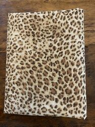 Fat Quarter Brown Leopard Print Cotton Quilting Fabric $5.00