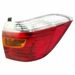 FITS FOR HIGHLANDER BASE  LIMITED 2008 2009 2010 REAR TAIL LAMP RIGHT PASSENGER $60.24