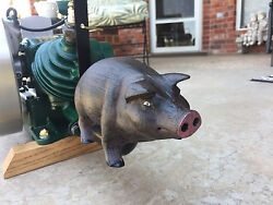 Maytag Smoked Bacon 92hit & miss Gas Engine PIG Exhaust  Muffler Engine show $124.99