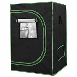 Hydroponic Grow Tent with Observation Window and Floor Tray for Plant Growing $45.99