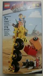 LEGO The Movie 2 Emmet's Thricycle 70823 3 Three Wheel Bicycle Building Toy New $18.88