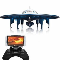 UFO Drone WiFi RC. App Control with Bluetooth Remote Controller REAL TIME VIDEO $169.99