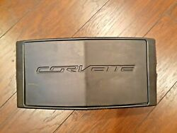 Chevrolet Corvette C7 2014-19 OEM Front License Plate Cover with Holder - Read $18.99