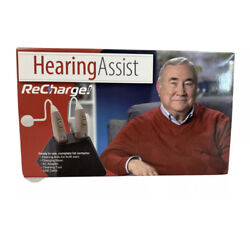Hearing Aids Set Of 2 Hearing Assist Recharge HA 302 4 Rechargeable $94.99