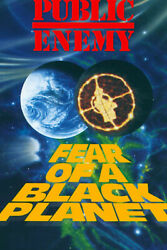 Public Enemy Fear of a Black Planet Hip Hop Art Wall Room Poster POSTER 24x36 $18.99