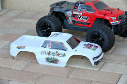 Custom Body Graffiti White for ARRMA GRANITE 4X4 2WD 3S BLX 1/10 Cover Shell $22.99
