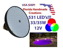 12V 33W Swimming Pool RGB Color Changing LED Light for Pentair Hayward Fixture $69.99
