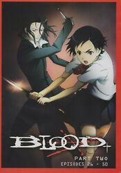 Blood+ (TV) Plus Part 2 Collection (Anime DVD 2007)  New Sealed English Audio!