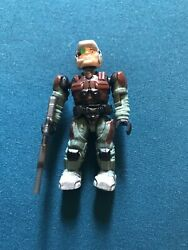 Halo Mega Bloks UNSC Halo Reach Marine With Weapon Figure $12.99