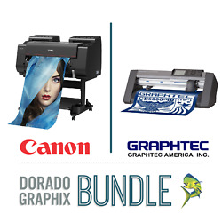 Canon PRO-2000 24 12-Color Printer Plotter NEW + Graphtec CE 6000-40+  NEW $3,200.00
