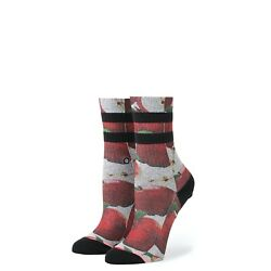 New with tags Stance Girls Socks quot;Abby#x27;s Applequot; Youth Small 7 10 Poly Crew $6.99