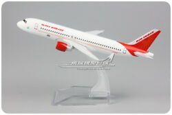 AIR INDIA AIRBUS A320 Passenger Airplane Plane Aircraft Metal Diecast Model $14.39