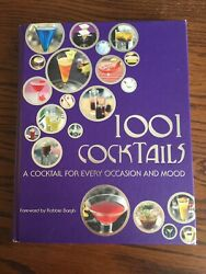 1001 Cocktails A Cocktail For Every Occasion and Mood 2009 Hardcover Book $15.00