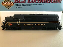 PROTO 2000 WESTERN MARYLAND BL2 HO LOCOMOTIVE DCC EQUIPPED (NO SOUND - DCC ONLY) $79.99