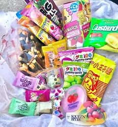 ASIAN SNACK BOX 10 pcs (Japanese Korean Chinese Candy Gummy and Snacks)