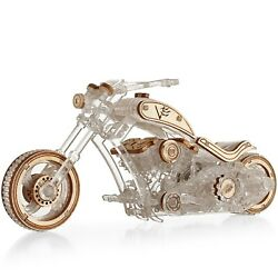 Veter Models Chopper 3D Puzzle Motorcycle for Adults 3D Puzzle Modelling Kit $29.90