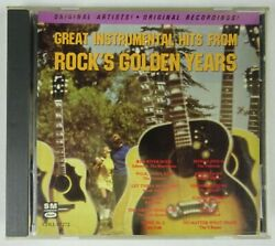 Great Instrumental Hits from Rock's Golden Years CD Various Artists $11.40