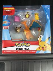 Brand New Multi-Pack 5 Fig POKEMON  Charizard Eevee Ditto Cubone  $28.00