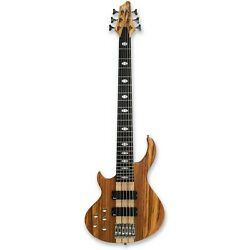 Left handy 6 String Electric Bass Guitar Okoume body bag pick up issue $179.00