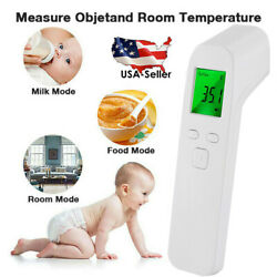Digital LCD Infrared Thermometer No-contact Forehead Baby Adult Temperature Gun $19.99