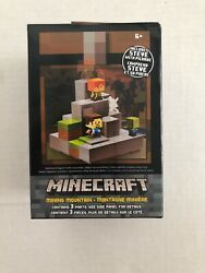 Minecraft Cave Biome Collection 1 Mining Mountain Steve With Pickaxe SUPER RARE $36.95