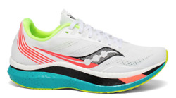 Saucony Endorphin Pro White Multicolor US Mens Size 8-13 Running Shoes $209.99