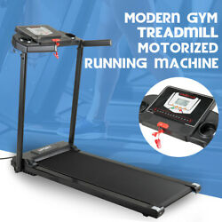 500W Folding Treadmill Electric Motorized Power Running Jogging Fitness Machine $240.99