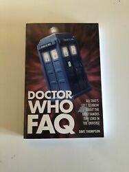 DOCTOR WHO FAQ ~ DAVE THOMPSON ~ LANCE PARKIN ~ 2014 ~ ILLUSTRATED ~ TIME LORD! $7.00