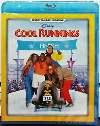 Cool Runnings (Blu-ray 2017) Jamaican Olympic Bobsled Team Disney Exclusive NEW $33.95