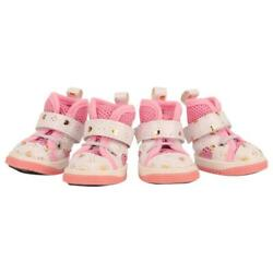 Pet Dog Shoes Bow Spring Summer Sports Shoes Breathable Shoes For Small Dogs $11.72