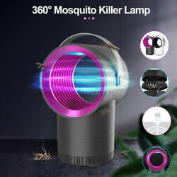 USB Electric Fly Bug Zapper Mosquito Insect Killer LED Light Trap Lamp Pest $12.99