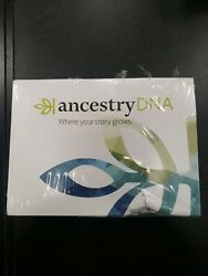NEW AncestryDNA Genetic Ethnicity Test Detailed Instr. Included damaged box $43.99