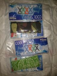 Pack of 4 The Elixir Ice Cool Scarf Neck Wrap Water Cooled Neck Cooler Cooling  $11.39
