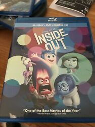 DISNEY'S: INSIDE OUT 3D BLU RAY   $3.99