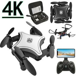 KY902 Mini Drone with 4K Camera Folding Drones Four-Axis Quadcopter Boy Toy A7Z6 $32.99