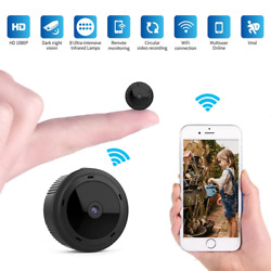 Wifi Mini Camera 1080P Magnetic Body Night Vision Motion Sensor HD Video Remote $60.99