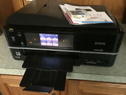 Epson Artisan 835 All-in-one Wireless Printer Copier Scanner Fax Wi-Fi +Cyan Ink $99.00