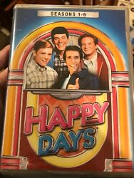 *Damaged Cases* Happy Days Seasons 1-6 Complete DVD Set *22-Discs* New Sealed $29.99