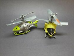 Air Hogs Lot Of 2 RC helicopters Not Working For Parts Or Repair C $10.00
