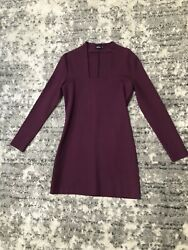 Kate Spade Saturday Womens Purple Dress Size Small $25.00