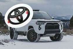 For Toyota 2010-2021 4Runner Matte Black Front Grille Bumper Replace Logo Emblem $18.89