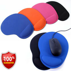 Comfort Wrist Gel Rest Support Mouse Mat Mice Pad Computer PC Laptop Soft Gaming $1.89